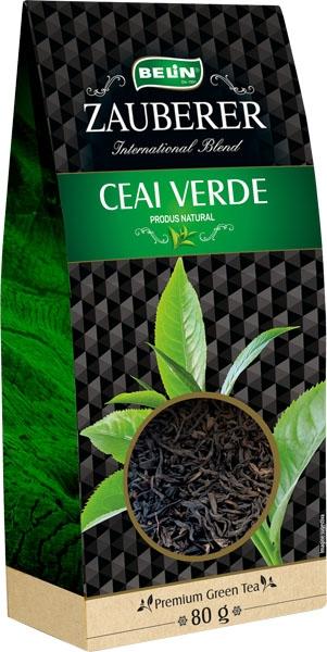 Ceai verde  Zauberer 80 gr, 9+1 gratuit 0