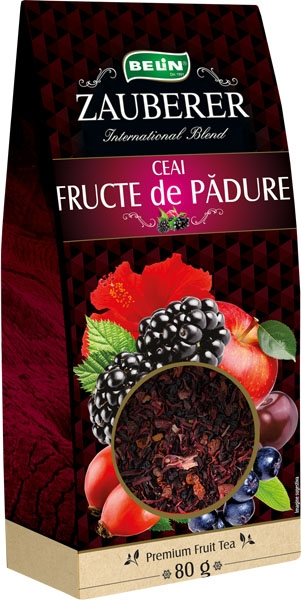Ceai fructe de padure  Zauberer ,80  gr