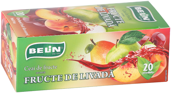 Ceai fructe de livada 20pl, 40gr