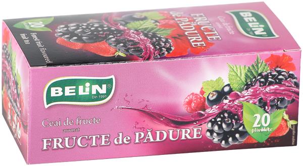 Ceai fructe de padure 20 pl, 40 gr