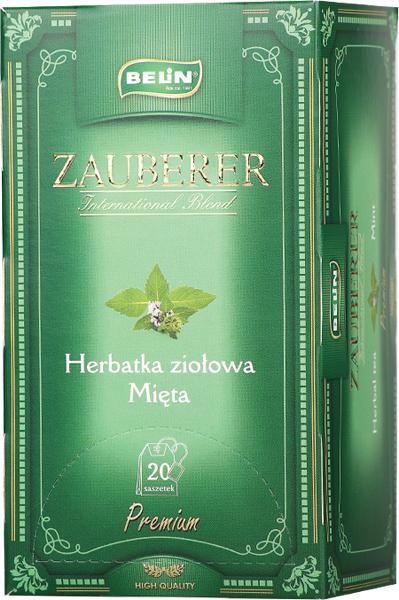 Ceai Zauberer de menta 20pl, 34gr