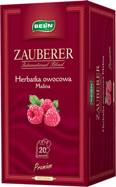 Ceai Zauberer de zmeura 20 pl, 45 gr, 9+1 gratuit 0