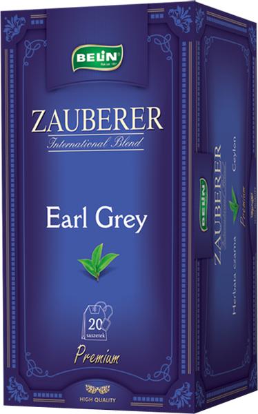 Ceai Zauberer Earl Grey 20 pl, 40 gr