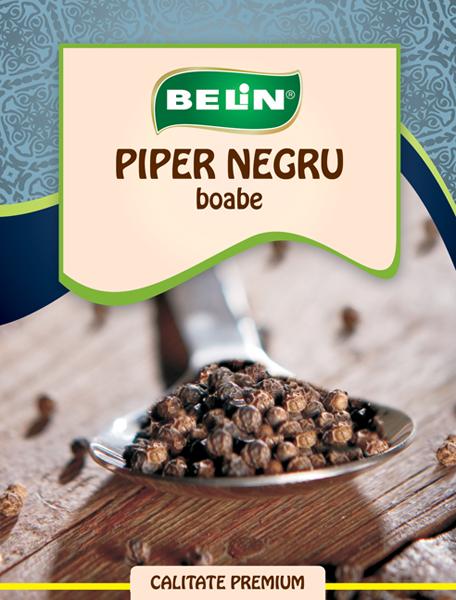 Piper negru boabe Belin 12g
